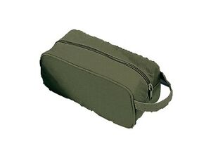 7626bbfc42 Rothco 8126 Canvas Travel Kit Bag - Olive Drab (O.D.) 613902812604 ...
