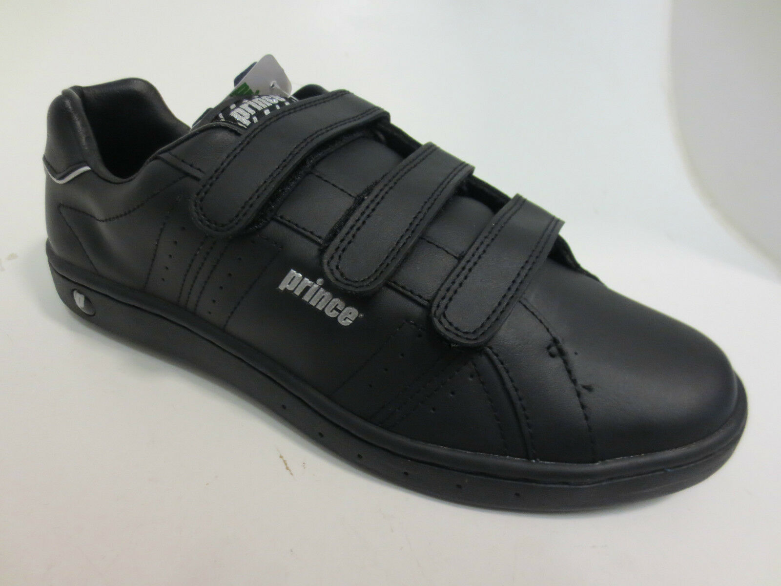 PRINCE Classic Mens and Black and Mens Silver Trainer 866b7f