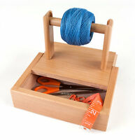 Sierra Pacific Crafts Yarn Holder With Storage on Sale