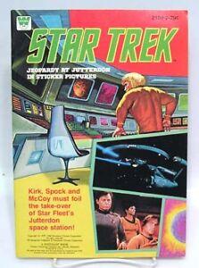 1979 Star Trek Sticker Book Un Used Jeopardy Jutterdon Ebay