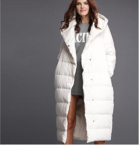 New Women/'s Hooded Coat Long Jacket Warm Duck Down Parka New Outwear Plus sz