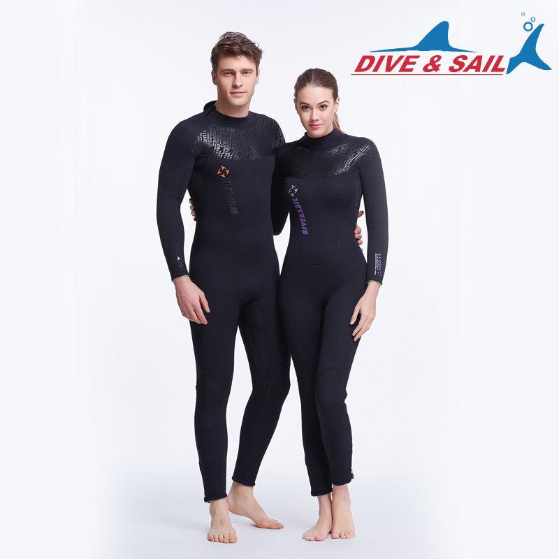 Men Women Ladies 5mm Full Wetsuit Watersports Beach Surfing Diving Sailing Kayak