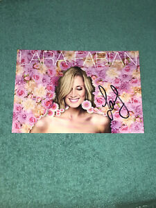 Lara Fabian photo cartonnée dedicace autograph Lockdown sessions