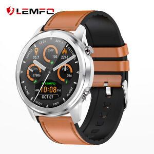 Lemfo-LF26-Hombres-Mujeres-Reloj-inteligente-corazon-ritmo-sangre-presion-de-oxigeno-para-iPhone-LG