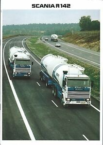 Details about Truck Brochure - Scania - R142 - c1982 - DUTCH language  (T2036)