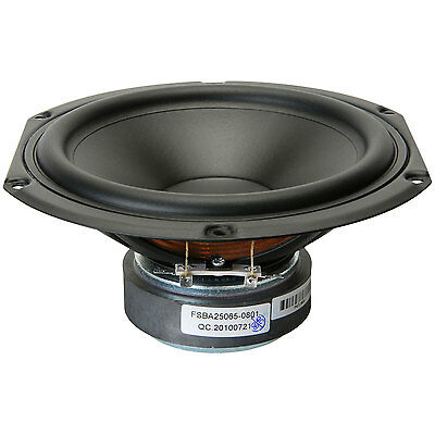 """NEW 6.5/"""" Woofer Speaker.Replacement.8 ohm.Home Audio Driver.6 1//2.six half inch"""