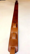 Plain Custom Leather Guitar Strap For Acoustic/Electric Smooth Standard Simple