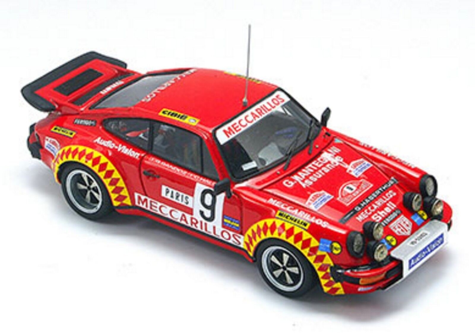 Kit Porsche 930 Turbo Gr.4 Rally Montecarlo 1978 –Arena modells kit 1 43