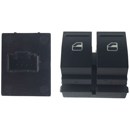 Double Electric Window Switch Button Front Right For Skoda