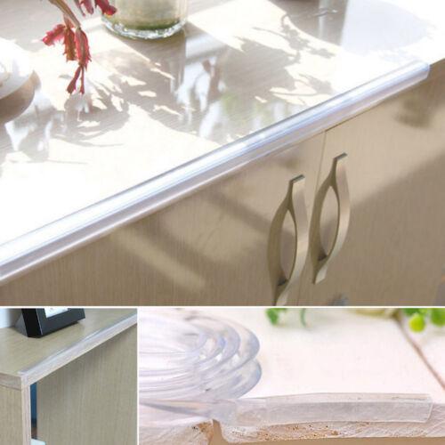 1M// Roll Soft Silica Gel Baby Kid Wall Table Corner Protector Cushion Edge Strip