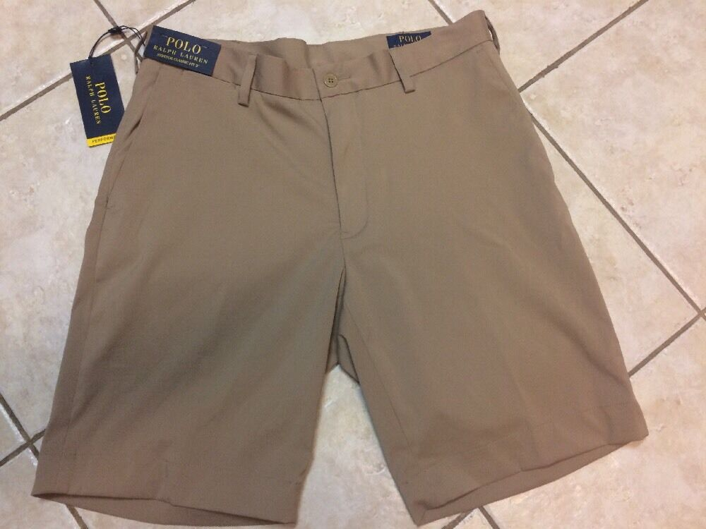 Polo Ralph Lauren Stretch Classic Fit Performance Short 30 Khaki NWT