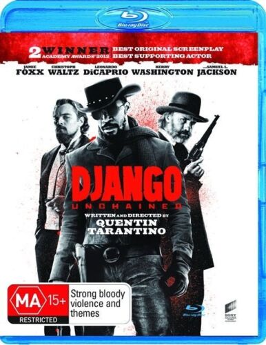 1 of 1 - Django Unchained - BLU RAY LIKE NEW REGION B FREE POST AUS*U.V.CODE NOT INCLUDED