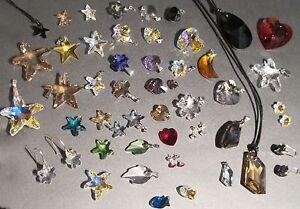 Kettenanhänger + viele Farben, Größen, Formen mit SWAROVSKI ® Kristall Anhänger