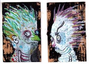 ORIGINAL-Art-GUS-FINK-dark-horror-punk-illustration-SOULS-OF-CLIVE-BARKER
