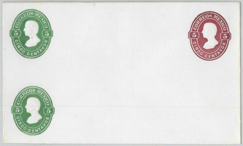 52264 MEXICO POSTAL STATIONERY COVER NOT QUOTED in Higgings & Gage NICE!