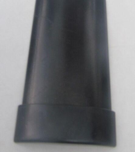 1 BLACK Plastic End Piece for Black Belt Rail Cap Trim Molding RV-339