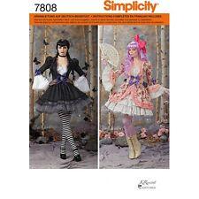 SIMPLICITY 7808 R5 SCHNITTMUSTER DAMEN KOSTÜM COSPLAY MANGA KLEID KLEIDER 40-48
