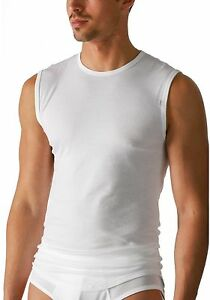 Mey-Noblesse-Herren-Shirt-2801-Unterhemd-City-Jacke-100-Baumwoll-cotton-dry