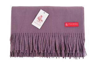 Obligatorisch Piacenza Decke Violett Schurwolle Kaschgora 185 Cm X 144 Cm Mit Einem LangjäHrigen Ruf