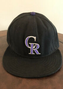 New-Era-59-fifty-Colorado-Rockies-On-Field-7-3-8-Cool-Base-MLB-Baseball-Hat-Cap