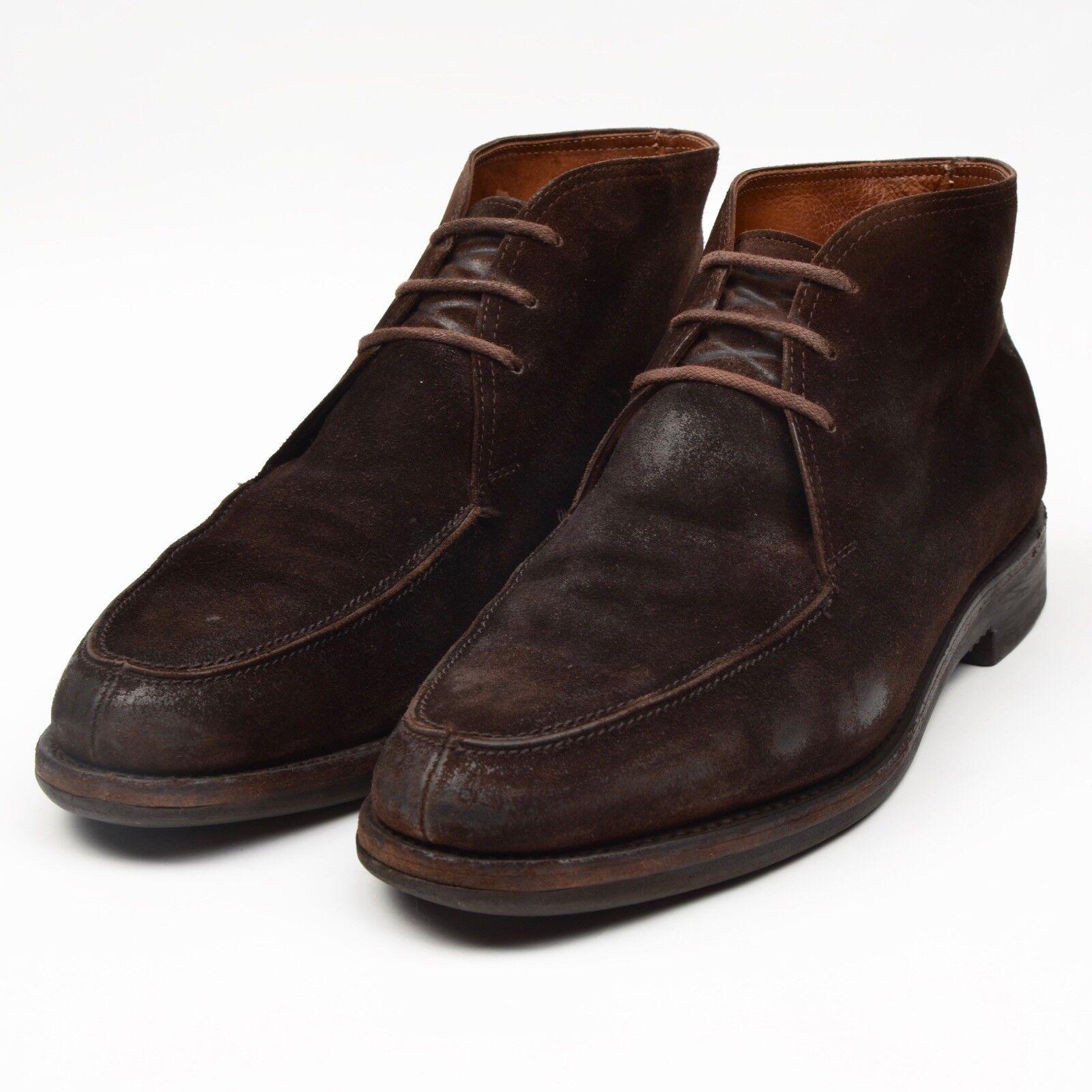 Baldessarini Hugo Boss Stiefel 8 Stiefel Crockett Jones Gr 8 Stiefel E Wildleder Suede Braun c29aaa