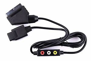 Hellfire-Trading-RGB-AV-HD-TV-SCART-CABLE-LEAD-FOR-NINTENDO-64-N64-NEW