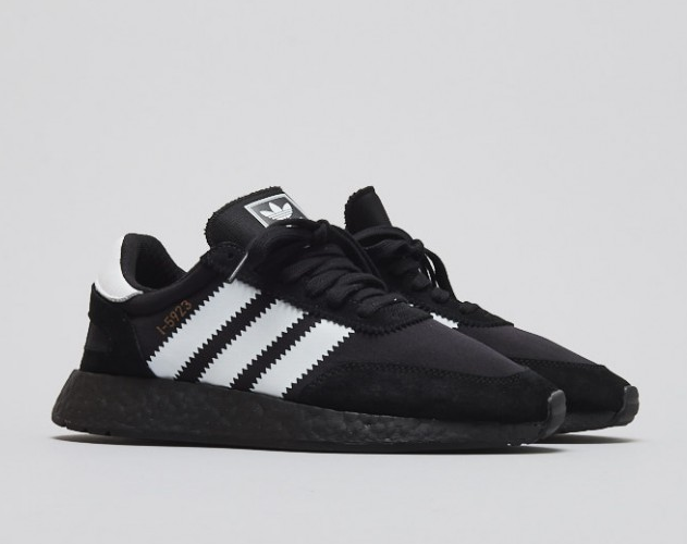ADIDAS INIKI RUNNER I-5923 SHOES BLACK/WHITE CQ2490 US MENS SZ 4-11