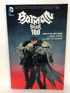 DC-BATMAN-YEAR-100-ONE-HUNDRED-Paperback-Paul-Pope-NEW-MSRP-20