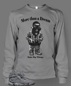 012690e2388f T Shirt to Match Retro Air Jordan 8 Cool Gray Shoe Men Doin Big ...
