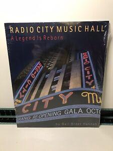 Radio City Music Hall New York NY Book Souvenir Commemorative A Legend Is Reborn