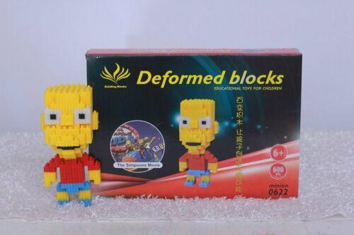 Nano Slot Building Blocks Sets Gift Series Bart Simpson Toy UK