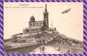 Tarjeta-Postal-Marsella-Notre-dame-de-la-guardia