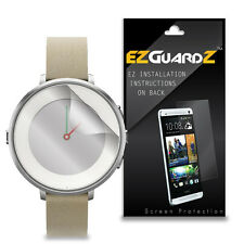 2X EZguardz LCD Screen Protector Skin HD 2X For Pebble Time Round (Ultra Clear)