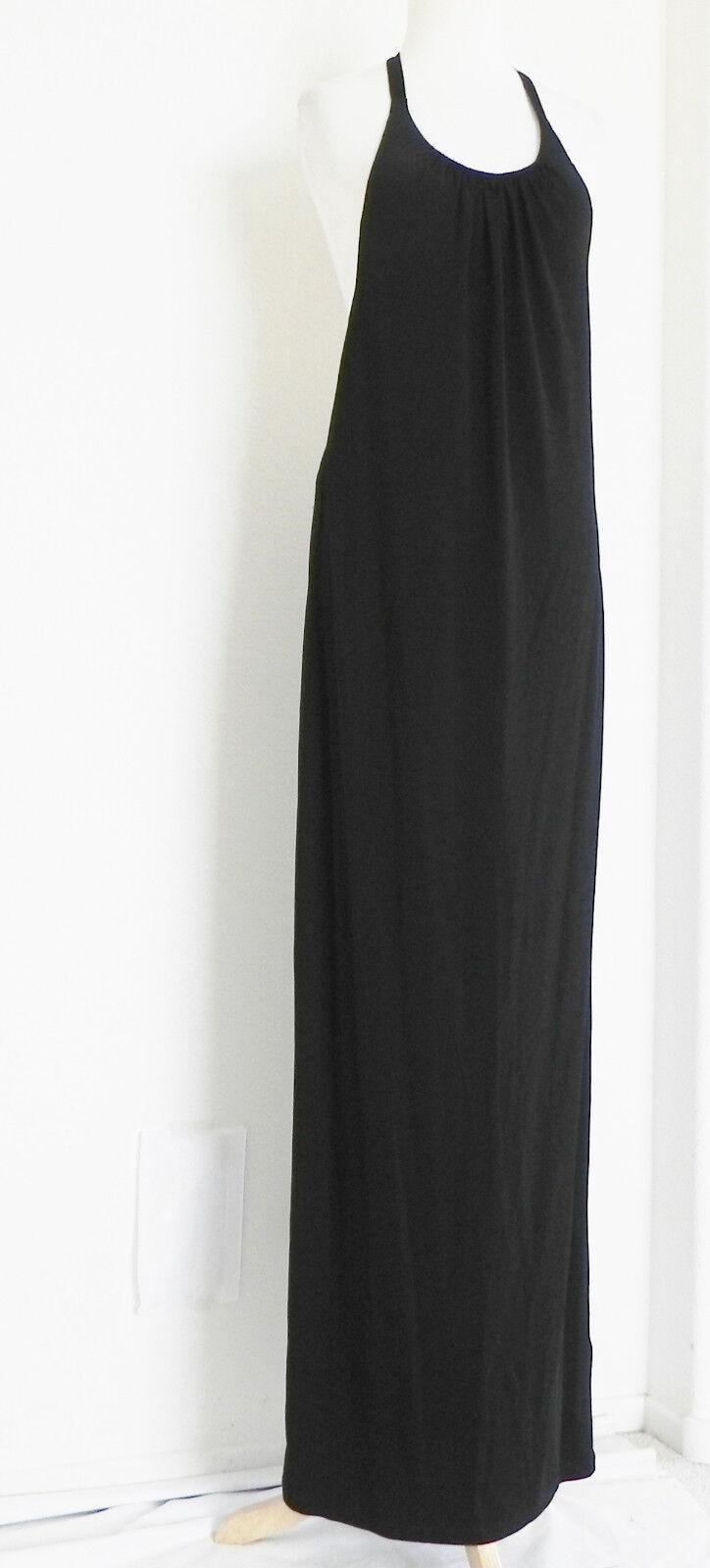 OVS Oviesse-Venezia Dress Halter Viscosa Größe M Sleeveless Full Length