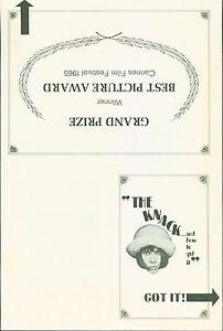 The-Knack-and-How-to-Get-It-1965-Rita-Tushingham-Michael-Crawford-pressbook