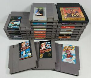 Nintendo-NES-Lot-Of-24-Games-Cartridges-Only-All-Work-All-Tested