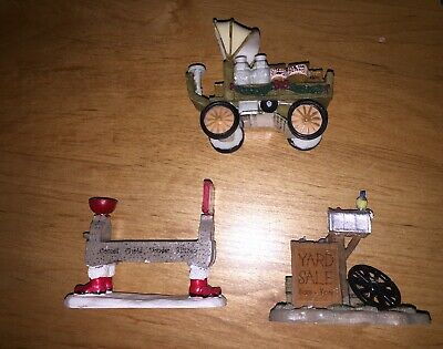 Dickens Christmas Village Accessories Holiday Decorations