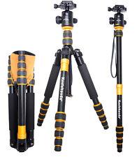 Portable Q-668 SLR Camera Tripod Monopod & BallHead For SLR Camera Canon Ni