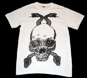Witchcraft-Hardware-Snake-Skull-T-Shirt-Skate-Street-skateboarding