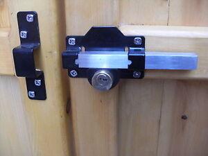 Keyed Alike Gate Lock Long Throw For Garden Gate Shed
