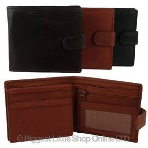 Mens-Quality-Soft-LEATHER-WALLET-Goods-Handy-Smart-Oakridge-With-Tab
