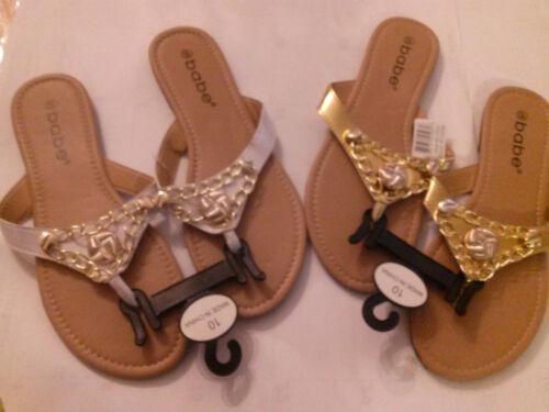 new ladies fashion  chain link beach  thong  sandals