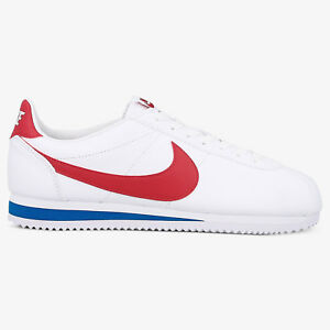 low cost 4acbd 7fdac Image is loading Nike-Classic-Cortez-Leather-Forrest-Gump-749571-154