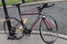 2015 Cannondale Slice Dura Ace DI2 Electronic Triathlon/TT Bike 51cm $8000