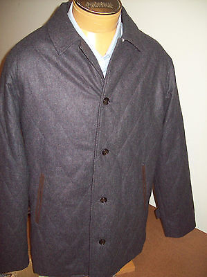 Peter Millar Pick Stitch Collection Brescia Wool Quilted Coat NWT Medium $795 | eBay