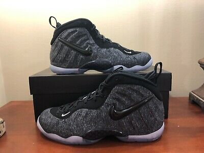 """Grade School Youth Size Nike Little Posite Pro /""""Tech Fleece/"""" 644792 008 Dark Gry"""