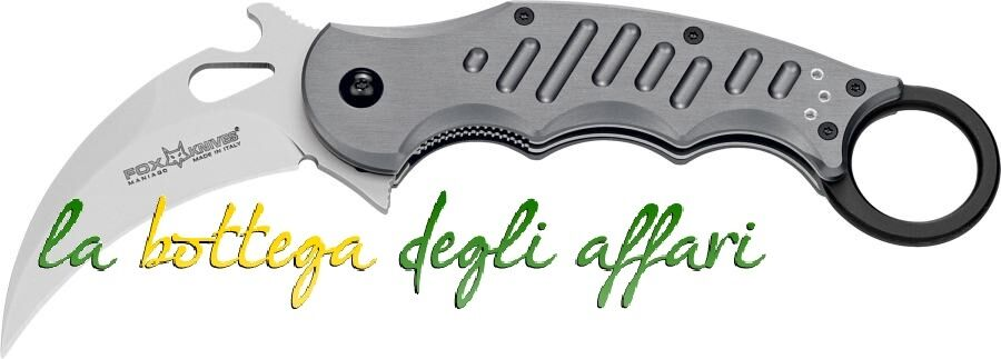 Coltello militare softair FOX uomoiago 478 folding Karambit