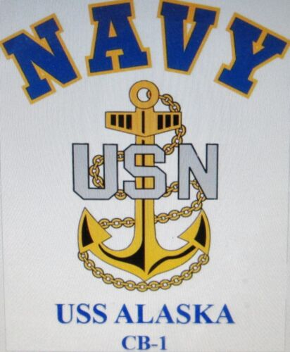 CRUISER U.S NAVY W// ANCHOR* SHIRT USS BALTIMORE CA-68