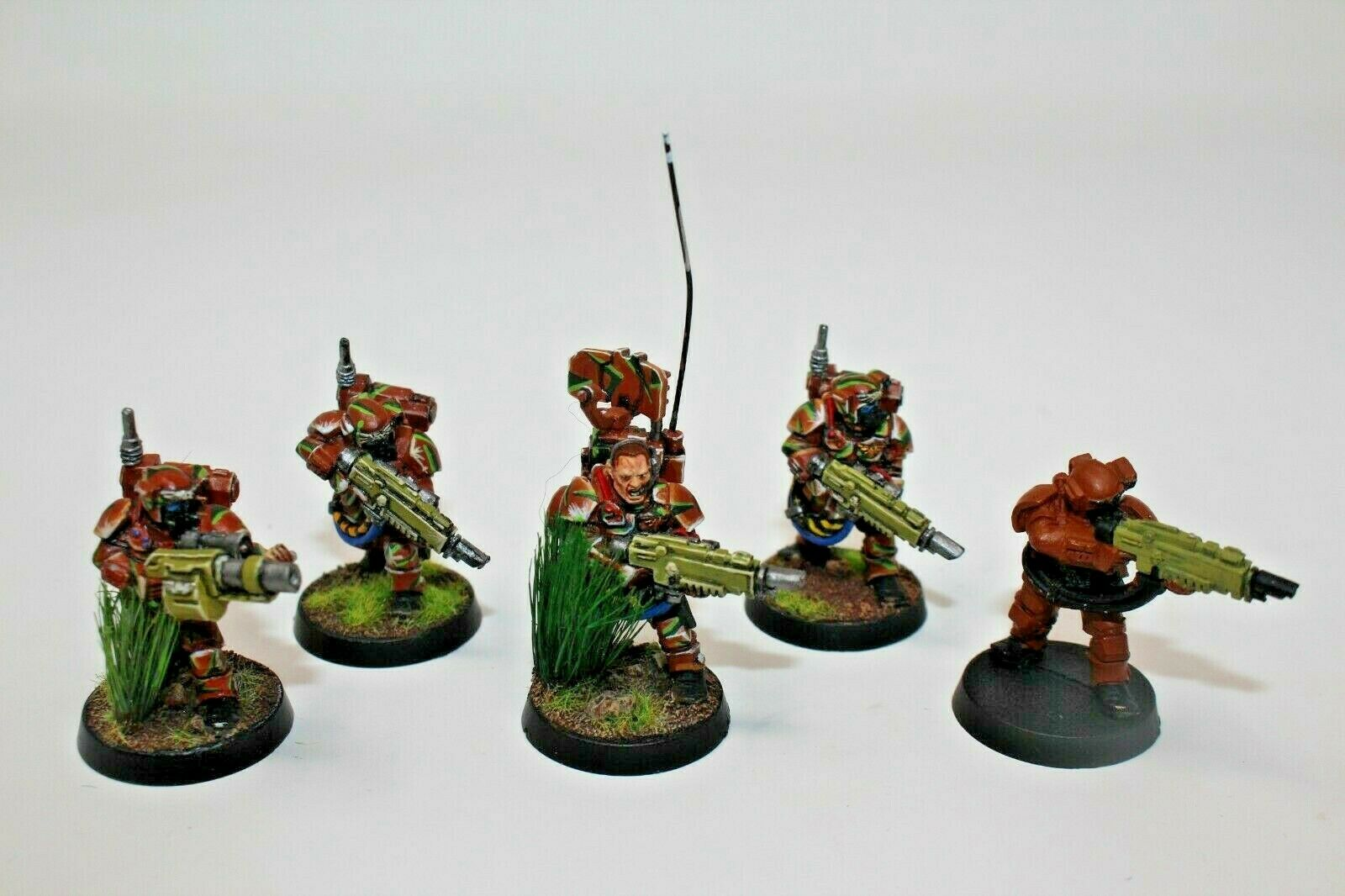Warhammer Guardia Imperiale Kazerkan Squad Ben verniciato mettuttio - JYs11