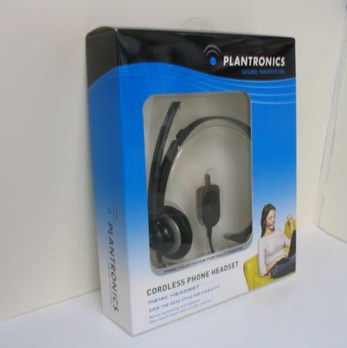 1 of 1 - Plantronics M214C Headset for Cisco Linksys SPA Polycom 2.5mm headset jack phone